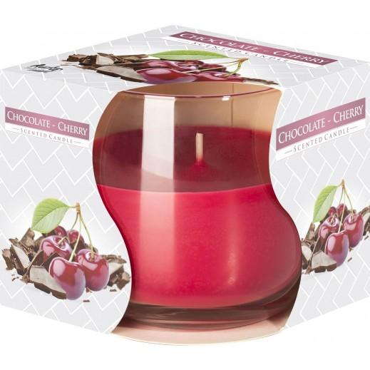أورا - شمع معطر برائحة كريز الشوكولاته 130 جم