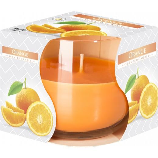 أورا - شمع معطر برائحة البرتقال 130 جم