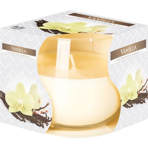 أورا - شمع معطر برائحة الفانيلا 130 جم