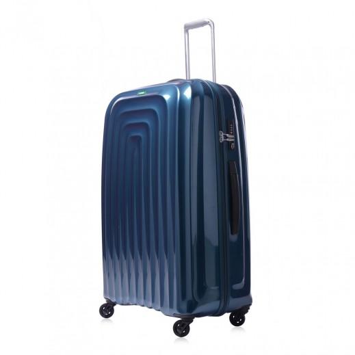"لوجيل – حقيبة سفر ""ويف"" بعجل - حجم كبير 76.5  سم - أزرق"