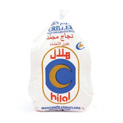 هلال - دجاج مجمد بدون أحشاء 1 كجم