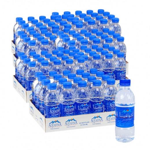 أكوافينا – مياه شرب نقية 330 مل ( 10 كرتون × 20 حبة ) – أسعار الجملة