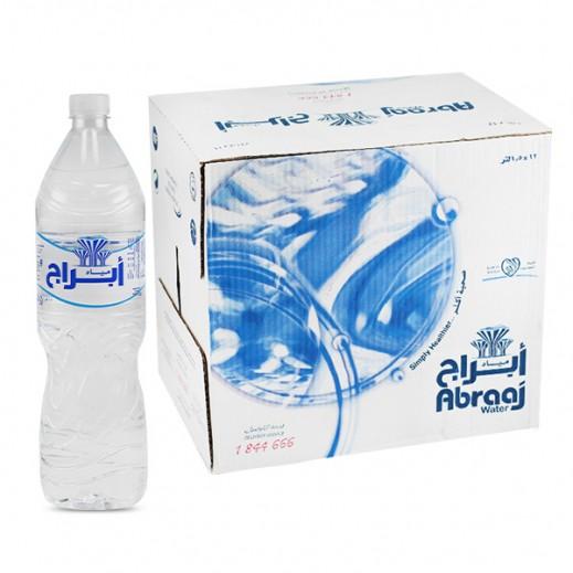 أبراج - مياه شرب نقية - كرتون 12 حبة × 1.5 لتر