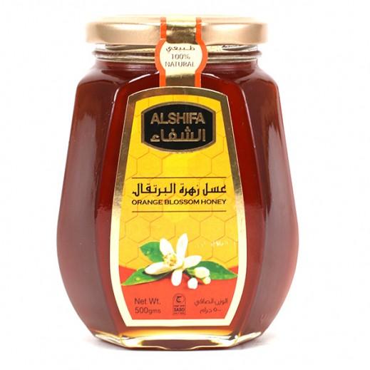 الشفاء – عسل زهرة البرتقال 500 جم