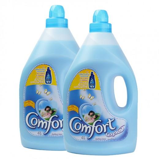 كومفورت – منعم الأقمشة (أزرق) 4 لتر  (2 حبة) – أسعار الجملة