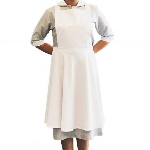 إم جي - ملابس الخادمة 300 رمادي (S - XL)