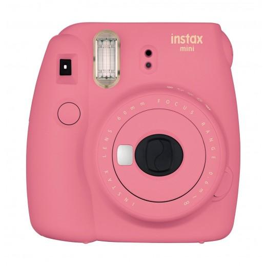 فوجي فيلم - كاميرا إنستاكس ميني 9  – وردي - يتم التوصيل بواسطة Digital World Exh