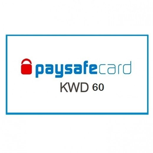 paysafecard 60 KWD - Delivery by E-mail