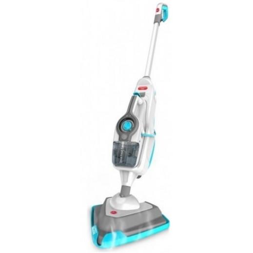 هوفر – جهاز تنظيف وتعقيم الأرضيات بالبخار 10 في واحد 1600 واط – أبيض وأزرق