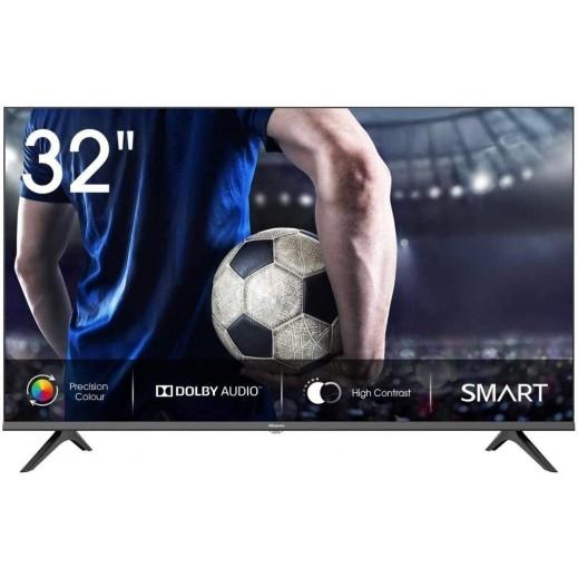 هايسنس – تلفزيون ذكي FHD قياس 32 بوصة – أسود - يتم التوصيل بواسطة AL ANDALUS بعد 3ايام عمل