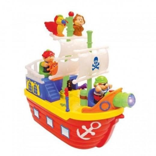 كيدي لاند - لعبة قارب القراصنة