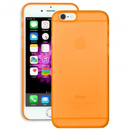 أوزاكي غطاء نحيف جدا و خفيف لأيفون 6 برتقالي