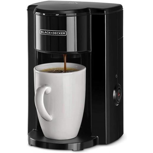 بلاك أند ديكر – 330 واط صانعة قهوة اسبريسو 1 كوب – أسود