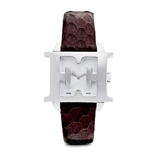 اسكادا - استل - ساعة بحزام بني للنساء - يتم التوصيل بواسطة My Fair Lady