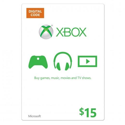 بطاقة XBOX  بقيمة 15 دولار للحسابات الأمريكية فقط –  إستلم فورا على بريدك الإلكتروني