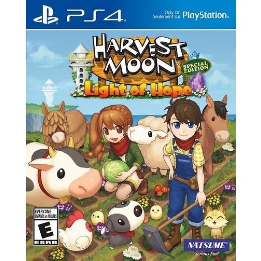 لعبة Harvest Moon: Light of Hope لجهاز بلاي ستيشن 4 – نظام NTSC