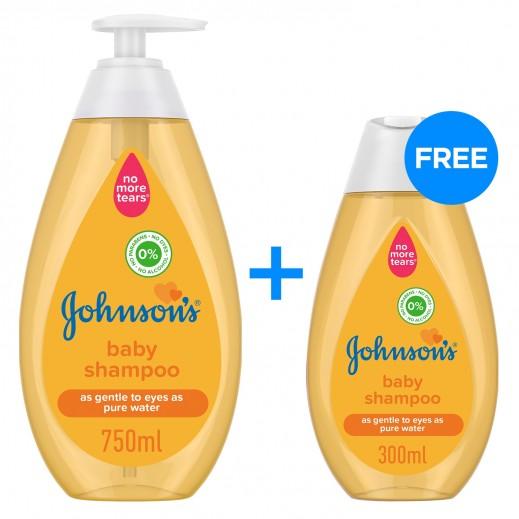 جونسون - شامبو للأطفال 750 مل + 300 مل مجاناً