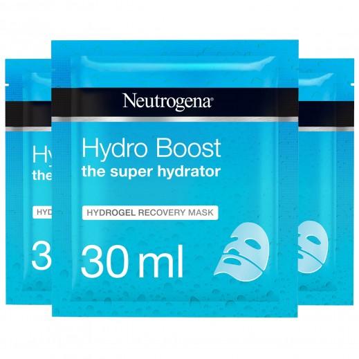 نيوتروجينا - قناع هايدروبووست الترطيب الفائق هايدروجل ريكوفري 30 مل (2 + 1 مجاناً)
