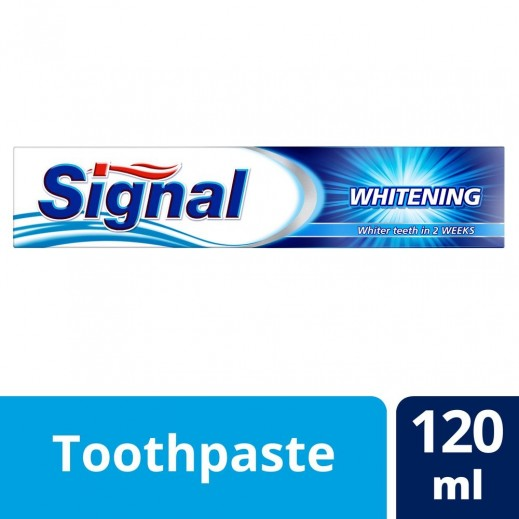 سيجنال - معجون أسنان للتبييض 120 مل