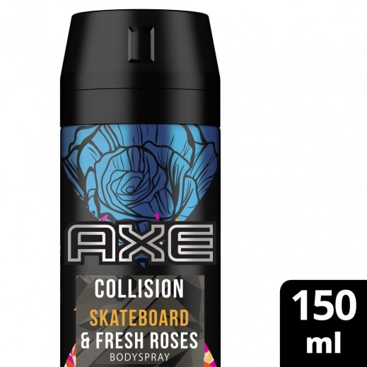 آكس - مزيل العرق لوح التزلج والورود المنعشة 150 مل