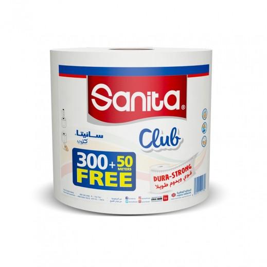 """سانيتا - ورق تواليت فاخر 300 + 50 متر """" مجاناً """""""