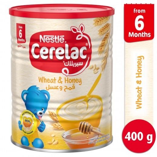 """سيريلاك – طعام الأطفال بالقمح والعسل """" المرحلة الثانية """" 400 جم"""