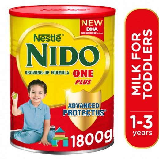 نيدو - حليب الأطفال وان بلس (1-3 أعوام) 1800 جم