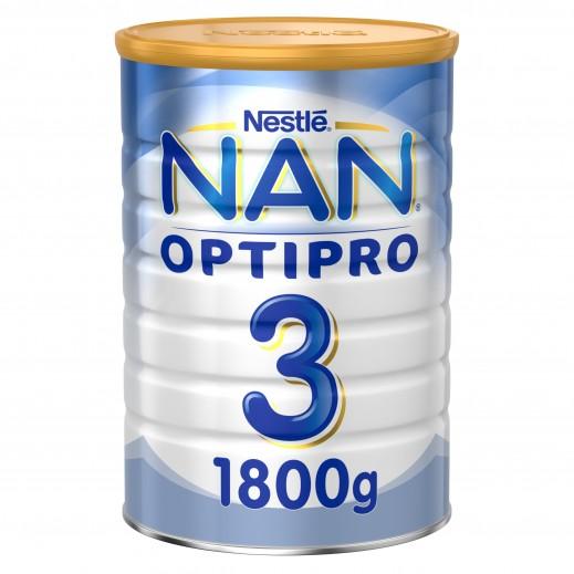 نان - حليب أوبتبرو للأطفال مرحلة 3 (1 - 3 سنوات) 1800 جم