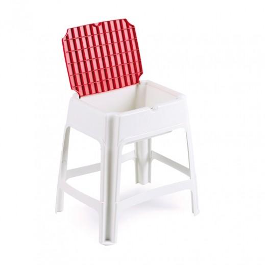 بروجاردن  - كرسي صغير مع مساحة للتخزين