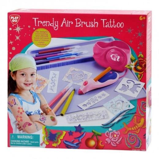 بلاي جو - لعبة مجموعة رسم التاتو بالفرشاة