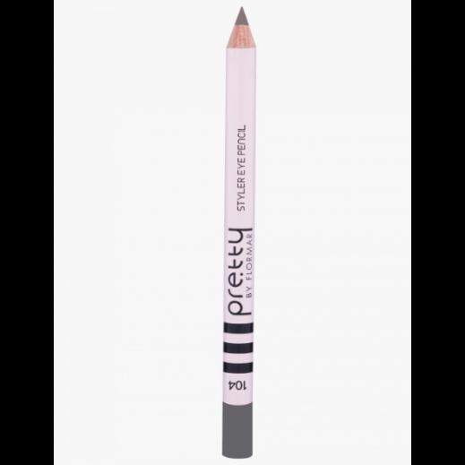 بريتي باي فلورمار - قلم تحديد العيون ستايلر - Grey 104