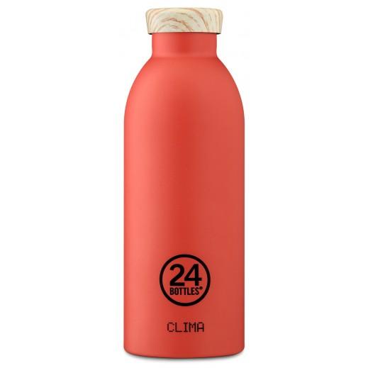 24 بوتلز - زجاجه مشروبات كليما الحرارية - فستقي 500 مل