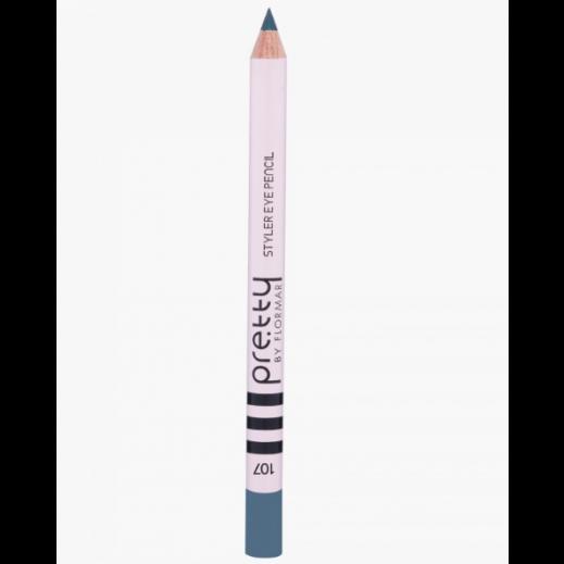بريتي باي فلورمار - قلم تحديد العيون ستايلر -Queen Blue 107