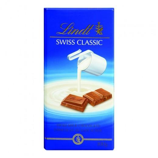 """لنت – شوكولاتة """"سويس كلاسيك"""" بالحليب 100جم"""