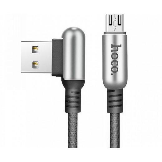 هوكو – كيبل مايكرو USB بطول 1.2 م – اسود