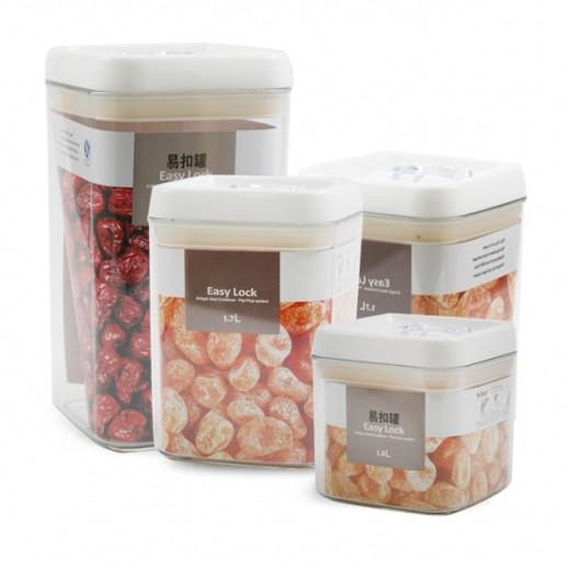 Storage Jar Set - 4 Pieces
