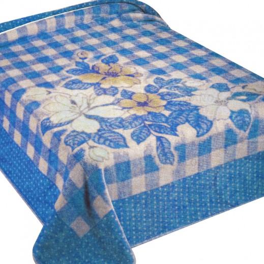 جوردا ألاسكا – بطانية أسبانية 200 × 240 سم - أزرق