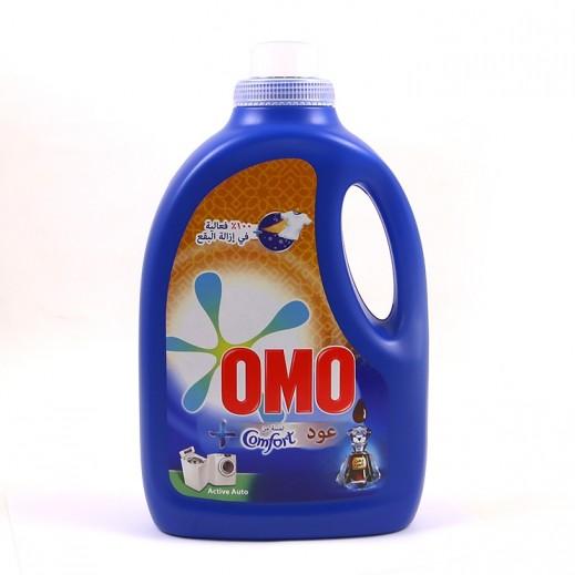 """أومو - سائل الغسيل """"""""Auto Fabric برائحة كومفروت عود 2.5 لتر"""
