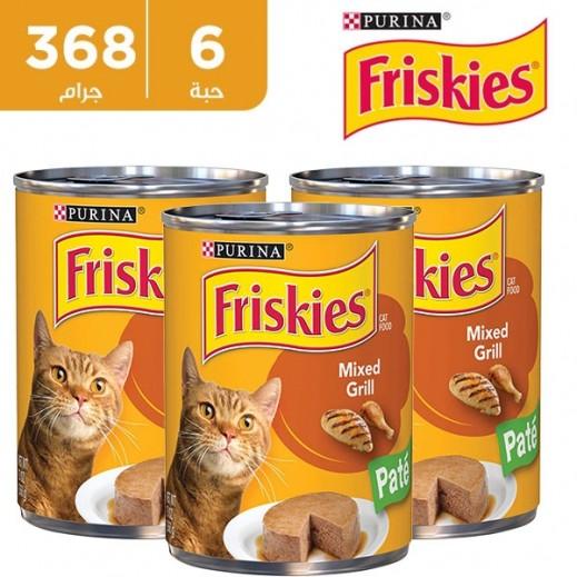 فرسكس – طعام القطط من المشويات المشكلة × 368 جم (6 حبة)