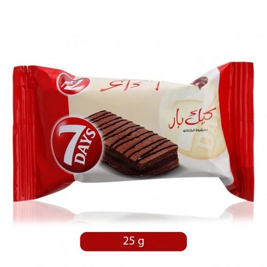 سفن ديز - كيك بار بحشوة الشوكولاته 300 جم