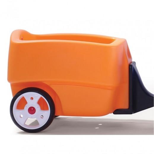 """ستيب 2 – عربة مقطورة """"تشو تشو"""" للأطفال - يتم التوصيل بواسطة Shahaleel"""