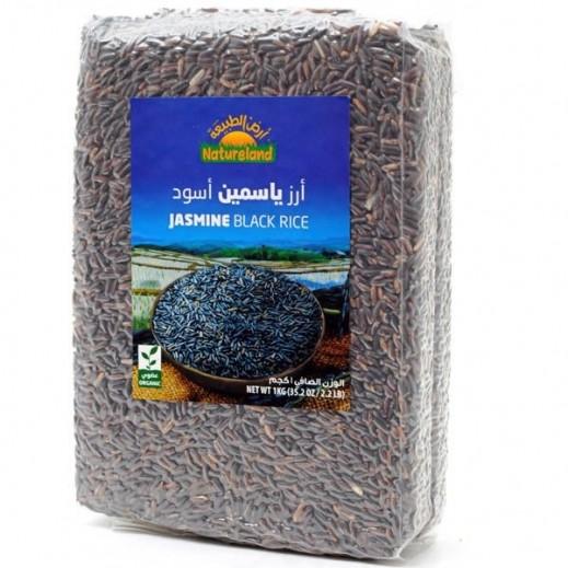 أرض الطبيعة – أرز ياسمين أسمر عضوي 1 كجم