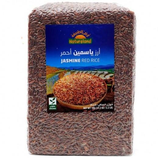 أرض الطبيعة – أرز ياسمين احمر عضوي 1 كجم