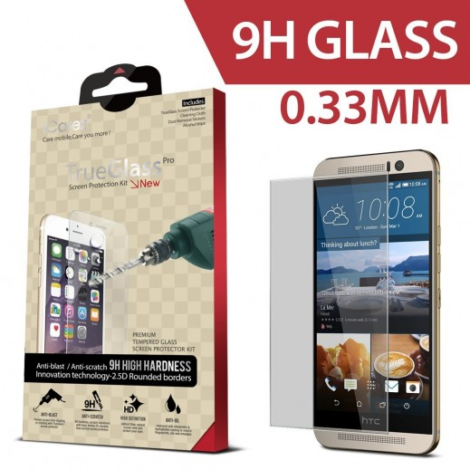 ICAREZ FLEX حامي زجاجي لشاشة HTC ONE M9 سماكة 0.33 ملم
