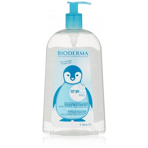 بايوديرما – مياه ميسلار ABCDerm لتنظيف بشرة الطفل الحساسة 1 لتر