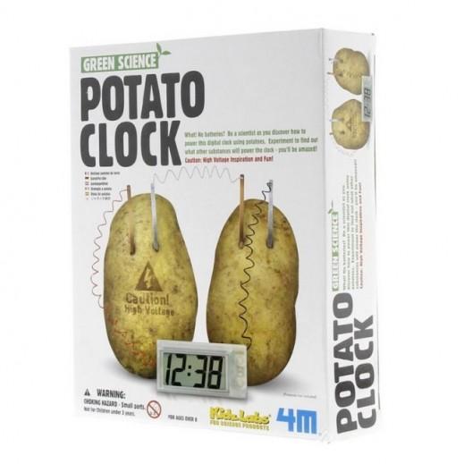 4 إم - مجموعة تشغيل الساعة من البطاطا