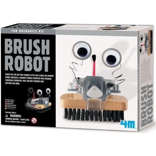 4 إم - مجموعة صنع الروبوت من الفرشاة