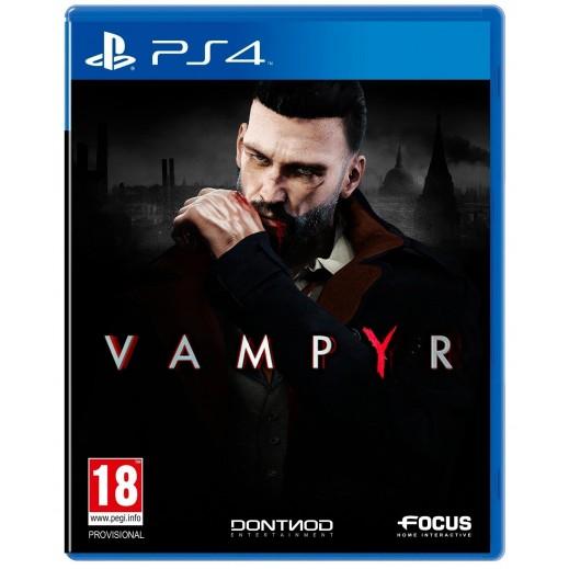 لعبة Vampyr لبلاي ستيشن 4 – نظام PAL