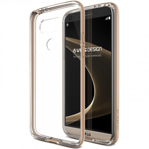 غطاء اطار VERUS CRYSTAL لاجهزة LG G5 - تألق الذهب