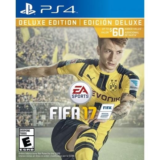 لعبة FIFA 17 Deluxe Edition لأجهزة PS4 – نظام NTSC